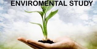 पर्यावरण शास्त्राचा अभ्यास