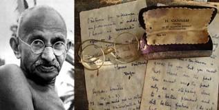 म. गांधीच्या खळबळजनक पत्रांचा लिलाव