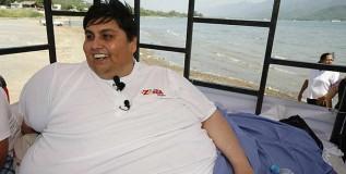 जगातल्या सर्वात वजनदार व्यक्तीचे निधन