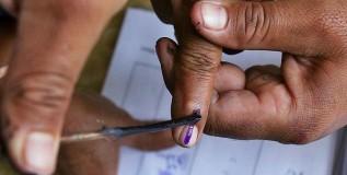 मतदानाची शाई पुसली जात असल्याचे सिद्ध