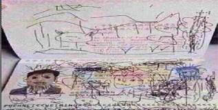 मुलाच्या चित्रकलेमुळे वडील अडचणीत