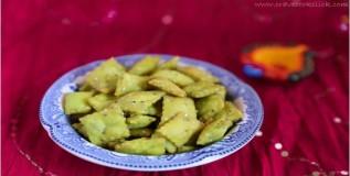 हिरवी खारी शंकरपाळी