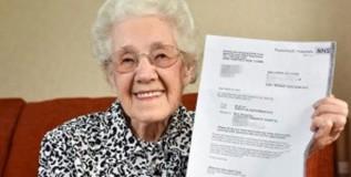 गरोदर झाल्या ९९ वर्षांच्या आजीबाई