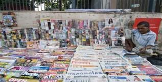 भारतात वृत्तपत्रांची संख्या वाढतीच