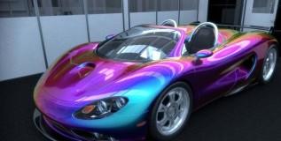 ही कार बदलते सरड्यासारखी रंग