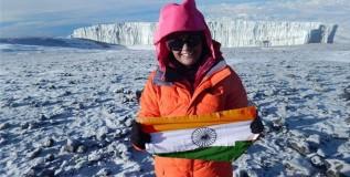 अंटार्क्टिकातील सर्वोच्च शिखराला भारतीय महिलेची गवसणी