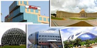 देशातली दहा आकर्षक कार्यालये