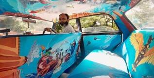 मुंबईत सजताहेत डिझायनर टॅक्सी