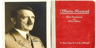 हिटलरच्या संग्रहातील आत्मचरित्र प्रतीचा होणार लिलाव