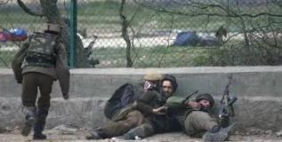 जम्मू-काश्मीरमध्ये २ दहशतवाद्यांचा खात्मा