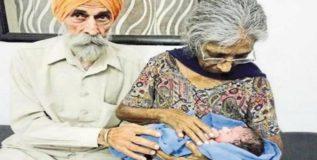 ७२ वर्षी आजीबाई बनली माता!