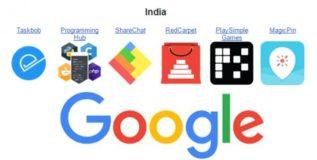 भारतीय स्टार्टअपचा गुगल लाँचपॅड अॅक्सलेरेटर प्रोग्रॅममध्ये बोलबाला
