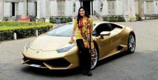 पहिली भारतीय महिला विकत घेणार लंबोर्गिनी