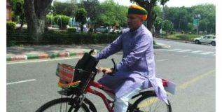 या केंद्रीय मंत्र्यासाठी सायकल माझी सखी