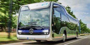 मर्सिडीजच्या फ्यूचर बसच्या चाचण्या यशस्वी