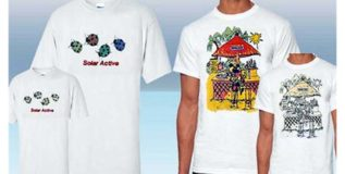 रंग व डिझाईन बदलणारा टी शर्ट
