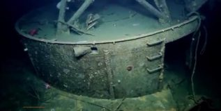 दुसऱ्या महायुद्धात बुडालेले लढाऊ जहाज समुद्रात सापडले