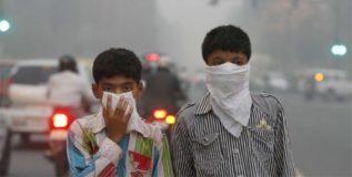 वायू प्रदूषणामुळे वर्षभरात १४ लाख मृत्यु