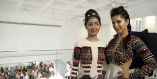 न्यूयॉर्क फॅशन वीक शोच्या रॅम्पवर अॅसिड हल्ल्याची पीडिता