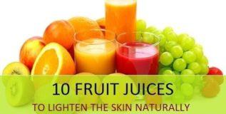तुकतुकीत त्वचेसाठी फळांचे रस