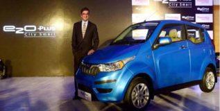 महिंद्राची नवी इलेक्ट्रिक सिटी कार