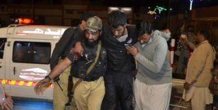 क्वेटामधील पोलीस ट्रेनिंग सेंटरवर दहशतवादी हल्ला, ४४ पोलीस ठार
