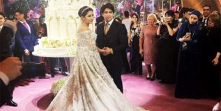 रशियात पार पडले सर्वात महागडे शाही लग्न