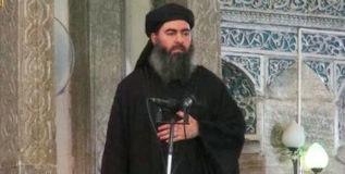'इस्लामिक राज्या'च्या नेत्यावर अमेरिकेचे इनाम दुप्पट!