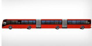 व्हॉल्वो'ची जगातील मोठी बस ब्राझीलच्या रस्त्यावर