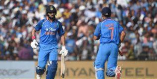 कटक वनडेत भारताचा कडक स्कोर
