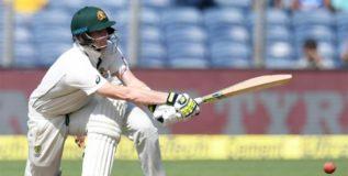 ऑस्ट्रेलियाची पहिल्या कसोटीवर मजबूत पकड