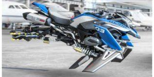 बीएमडब्ल्यू आणतेय उडणारी बाईक