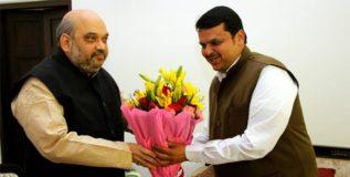 शहांच्या भेटीसाठी मुख्यमंत्री दिल्लीत