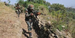 जम्मू-काश्मीरमध्ये चकमक; चार दहशतवादी ठार, दोन जवान शहीद