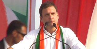हवा होता डीडीएलजेमधला 'शाहरुख', मिळाला 'गब्बर'- राहुल गांधी