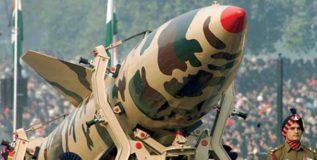 युद्धजन्य परिस्थितीत भारतच सर्वात आधी टाकेल अणुबॉम्ब