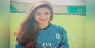 पाकिस्तानची सौंदर्यवती फुटबॉल खेळाडू सैयदा महापारा