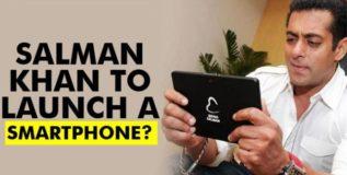 लवकरच येणार सलमानचा 'बिइंग स्मार्टफोन'