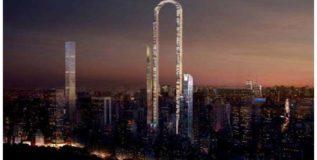 न्यूयॉर्कमध्ये होणार उलट्या इंग्लीश यू अक्षराची महाप्रचंड इमारत