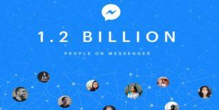 अब्जांमध्ये पोहचली फेसबूक मेसेंजरच्या युजर्सची संख्या