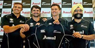 'अमुल' न्यूझीलंड क्रिकेट संघाचे प्रायोजक