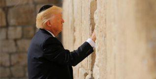 जेरूसलेममध्ये प्रार्थना करणारे ट्रम्प ठरले पहिले अध्यक्ष