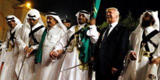 बॅलेस्टिक क्षेपणास्त्राने ट्रम्प यांचे सौदी अरेबियात स्वागत