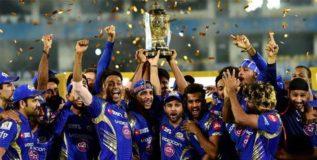 आयपीएल १०- मुंबई इंडियन्स चँपियन