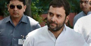राहुल गांधी बंदीचा आदेश झुगारून सहारनपूरच्या दिशेने रवाना