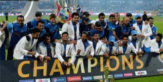 चँपियन्स ट्रॉफीसाठी सोमवारी टीम इंडियाची निवड