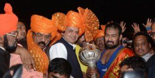 महाराष्ट्र केसरी विजय चौधरीची डीवायएसपी पदावर नियुक्ती