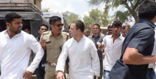 राहुल गांधींना मध्य प्रदेश पोलिसांनी घेतले ताब्यात