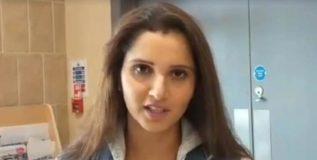 शोएबला पाठिंबा आहेच, पण माझा देशही माझ्यासाठी सर्वोच्च आहे – सानिया मिर्झा