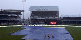 पावसामुळे भारत विरुद्ध वेस्ट इंडिज सामना रद्द
